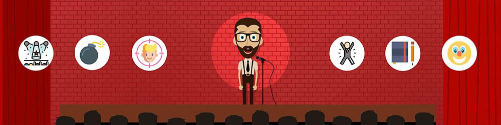 Hvordan bliver man stand-up komiker?